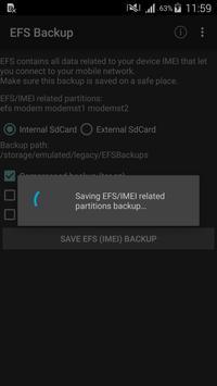 EFS☆IMEI☆Backup screenshot 1