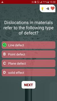 Material Engineering Quiz screenshot 2