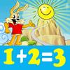 Coole Mathe-Kinder Zeichen