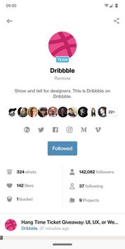 Dribbble screenshot 2