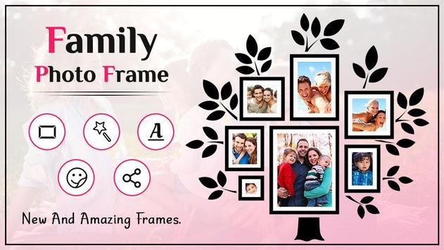 Family Photo Frame poster