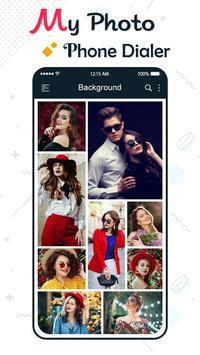 My Photo Phone Dialer: Photo Caller Screen Dialer poster