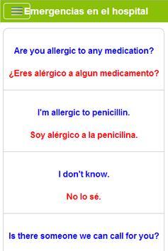 Aprender Inglés gratis captura de pantalla 4