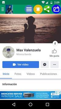 Max Valenzuela Fans Oficial screenshot 6