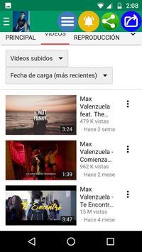 Max Valenzuela Fans Oficial screenshot 3