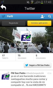 Fm San Pedro screenshot 2
