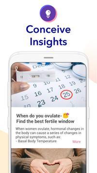 Ovulation Calendar & Fertility screenshot 2