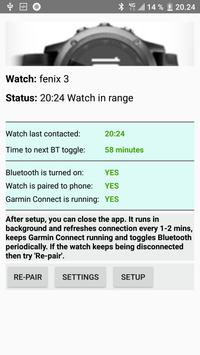 Reconnect Garmin Watch - legacy version for Android - APK