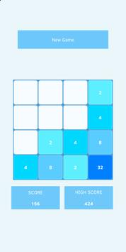 2048 (Blue Light) screenshot 1