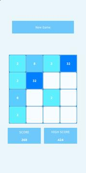 2048 (Blue Light) screenshot 2
