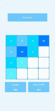 2048 (Blue Light) screenshot 3