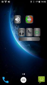 Bluetooth Audio Widget Battery FREE تصوير الشاشة 10