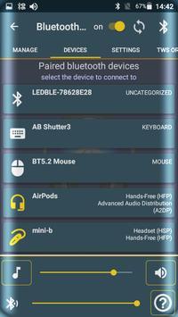 Bluetooth Audio Widget Battery FREE 스크린샷 12