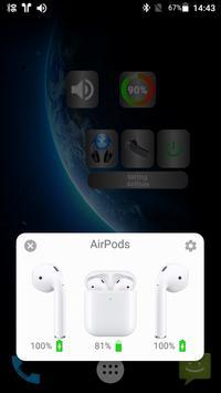 Bluetooth Audio Widget Battery FREE تصوير الشاشة 1