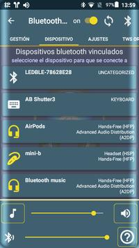 Bluetooth Audio Widget Battery FREE captura de pantalla 12