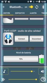 Bluetooth Audio Widget Battery FREE captura de pantalla 2