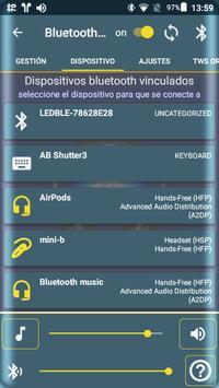 Bluetooth Audio Widget Battery FREE captura de pantalla 7