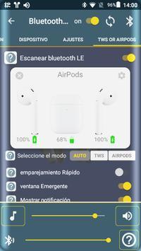 Bluetooth Audio Widget Battery FREE captura de pantalla 5