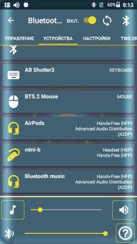 Bluetooth Audio Widget Battery FREE скриншот 12