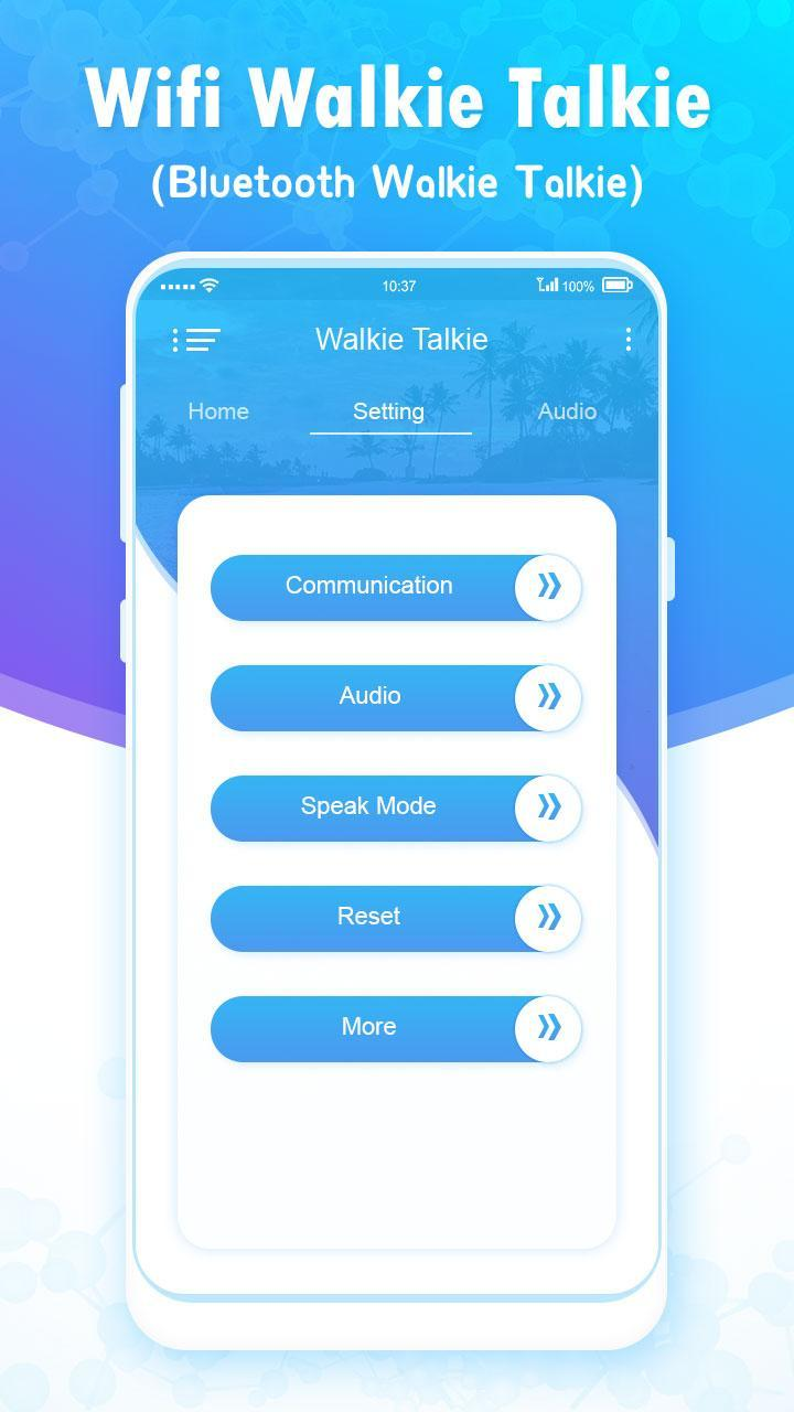 Wifi Walkie Talkie - Bluetooth Walkie Talkie for Android