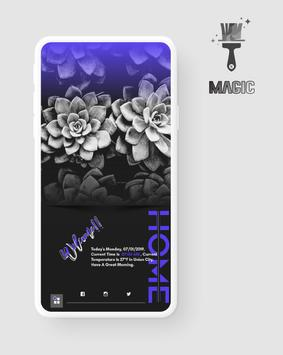 Magic KWGT poster