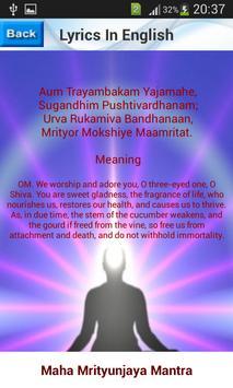 Maha Mrityunjaya Mantra स्क्रीनशॉट 5