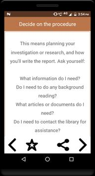 How to write a report screenshot 2