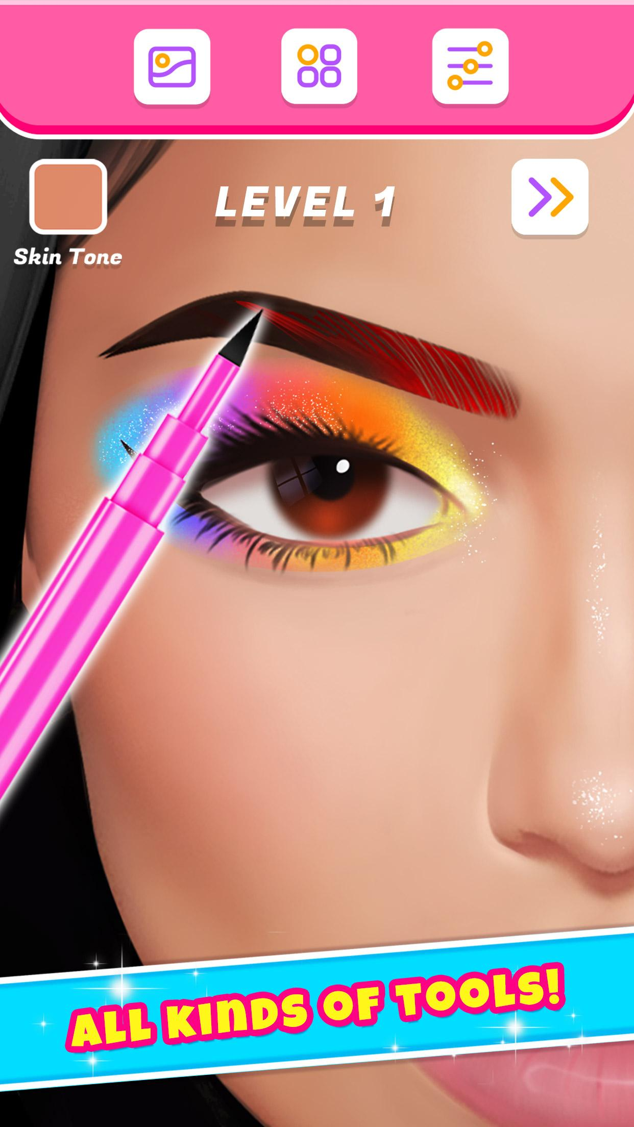 Eye Makeup Artist Dress Up Games For