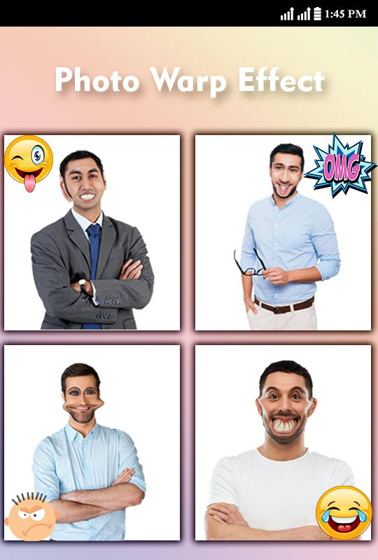 Crazy Face maker Funny Photo Warp Editor for Android - APK