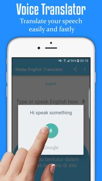 Malay English Translator screenshot 1