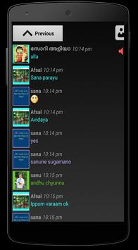 Malayalam Chat Box screenshot 3