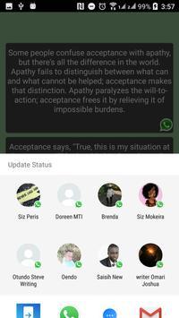 New WhatzApp Status screenshot 3