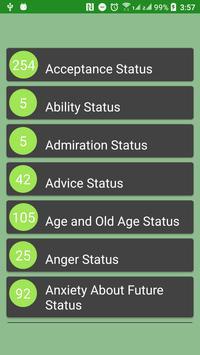 New WhatzApp Status screenshot 1