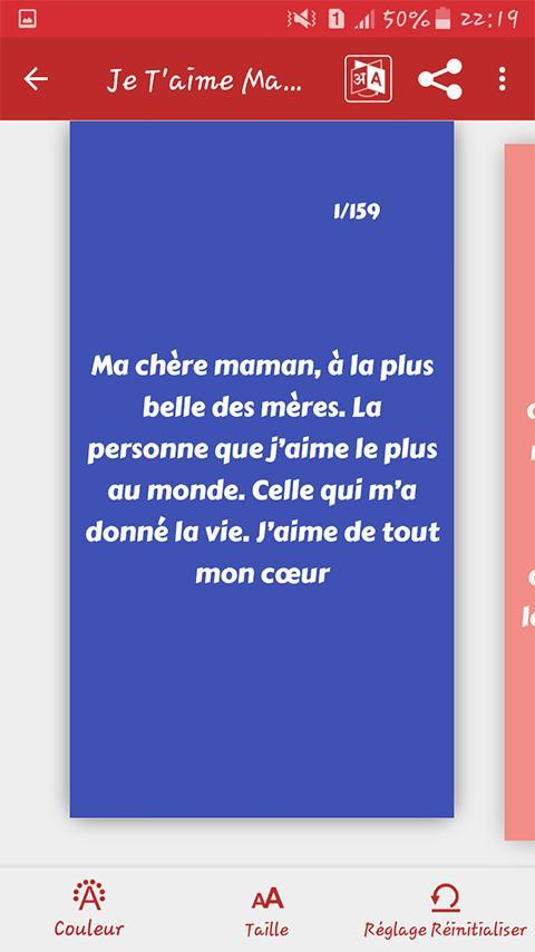Je Taime Maman Messages 2020 For Android Apk Download