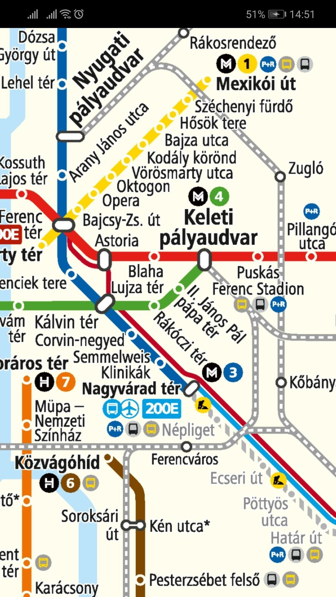 Budapest Metro Map For Android Apk Download