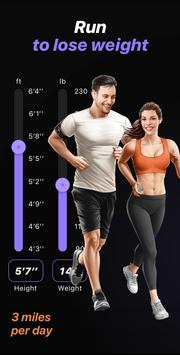 Weight Loss Running by Runiac poster