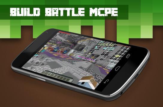 Servers Build Battle for Minecraft PE screenshot 2