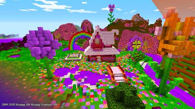 Pink House maps for minecraft pe screenshot 1
