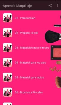 Aprende Maquillaje Profesional poster