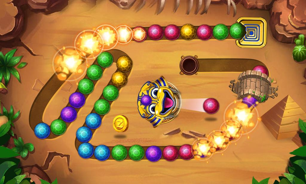 Marble Shoot Egyptian Marble Shooting For Android Apk Download