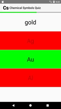 Chemical Symbols Quiz screenshot 4