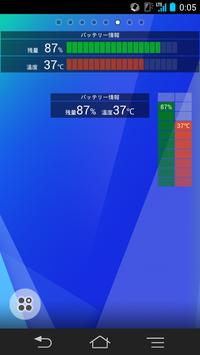 電池の残量と温度 الملصق