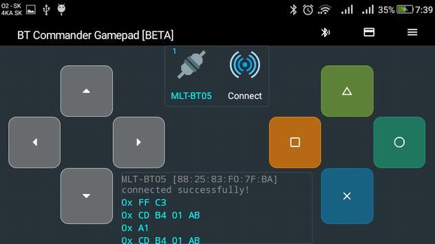2 Schermata Bluetooth Commander Pro