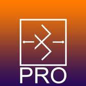 BT/USB/TCP Bridge Pro आइकन
