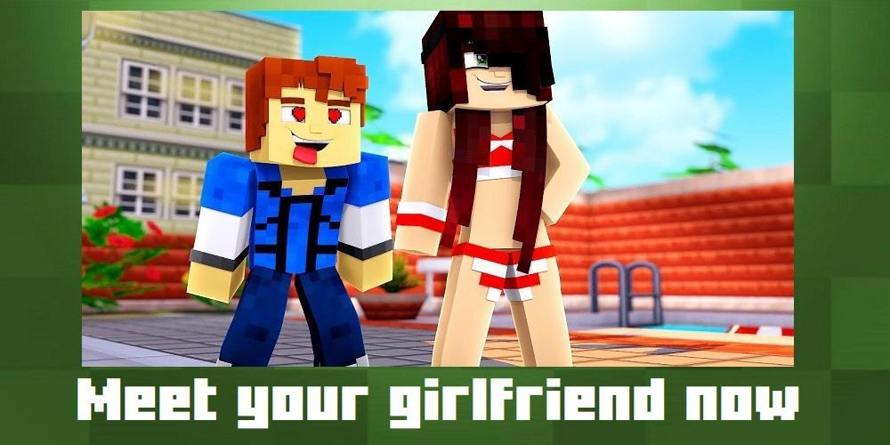 Girlfriend mod for Minecraft PE for Android APK Download