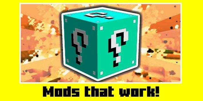 Lucky block mod for Minecraft screenshot 2