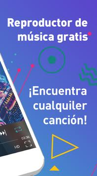 Descargar Musica Gratis MP3 Player Aplicacion Lite captura de pantalla 1