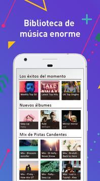 Descargar Musica Gratis MP3 Player Aplicacion Lite captura de pantalla 2