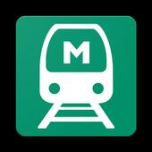 Noida Metro and Delhi Metro: NMRC and DMRC icon