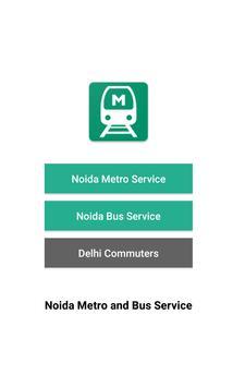 Noida Metro and Delhi Metro: NMRC and DMRC poster